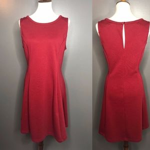 Old Navy XL Maroon Dress with side zipper